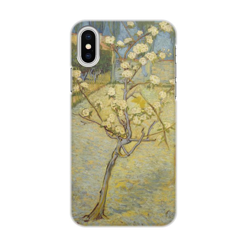 Чехол для iPhone X, объёмная печать Printio Цветение слив (ван гог) пазл 73 5 x 48 8 1000 элементов printio цветение слив ван гог
