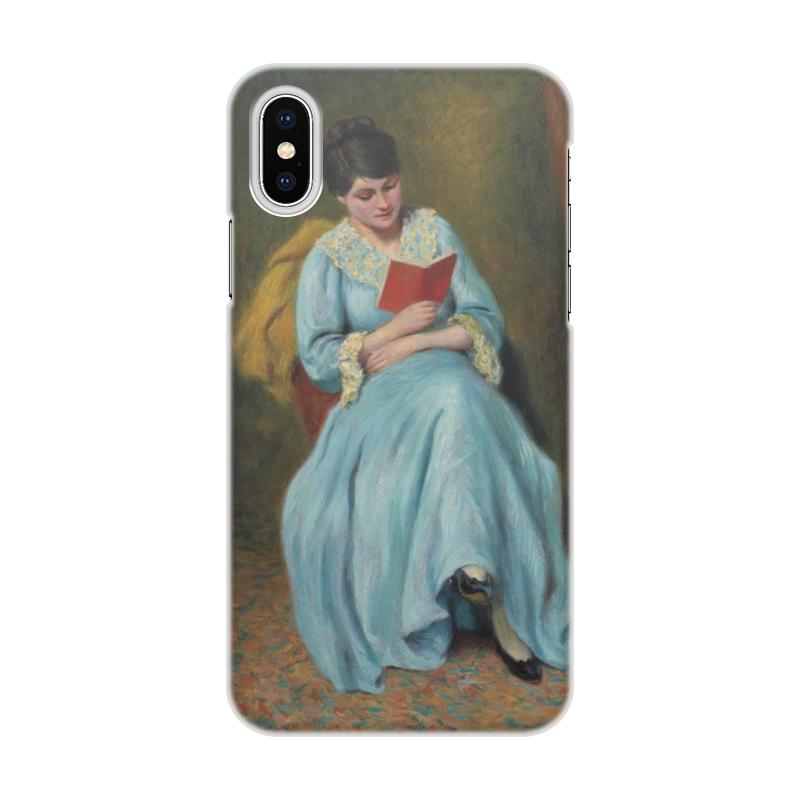 Printio Читающая женщина в голубом ручка читающая коран