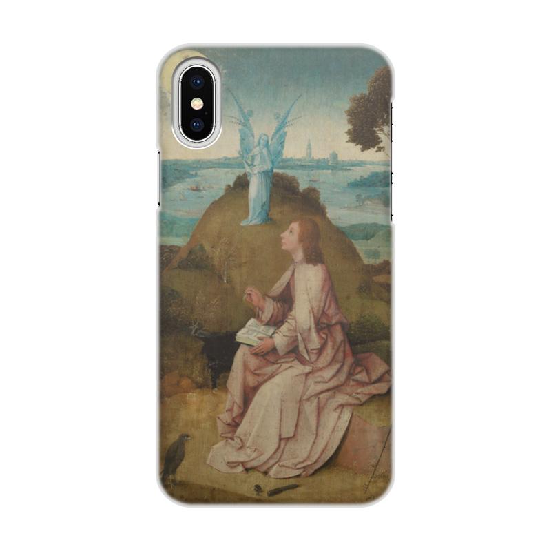 Printio Святой иоанн на патмосе (картина босха) чехол для iphone x xs объёмная печать printio святой михаил взвешивает души