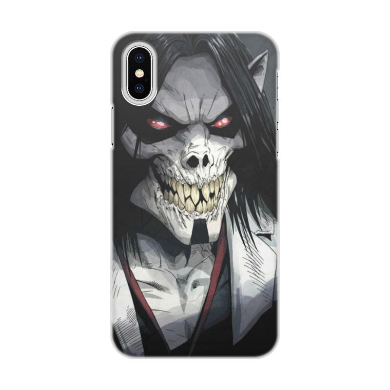 Printio Morbius чехол для iphone x xs объёмная печать printio святой михаил взвешивает души