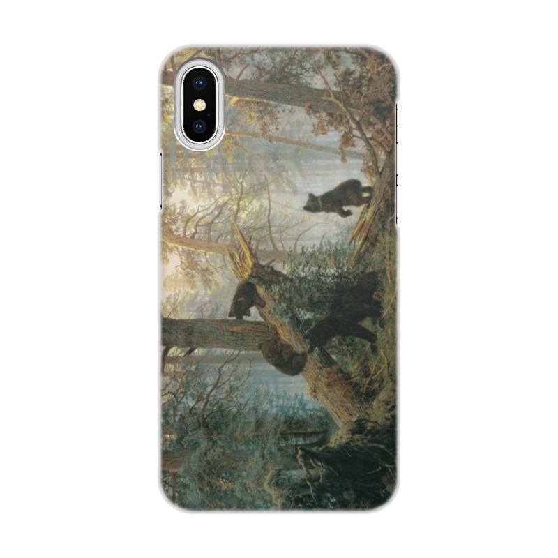 Чехол для iPhone X, объёмная печать Printio Утро в сосновом лесу (иван шишкин) чехол для iphone 6 глянцевый printio дама в голубом картина сомова