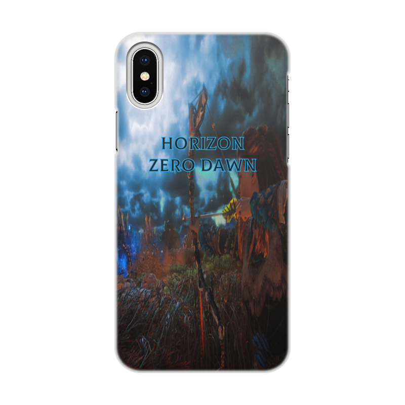 Чехол для iPhone X/XS, объёмная печать Printio Horizon zero dawn чехол для iphone x xs объёмная печать printio пейзаж в тегернзее август маке