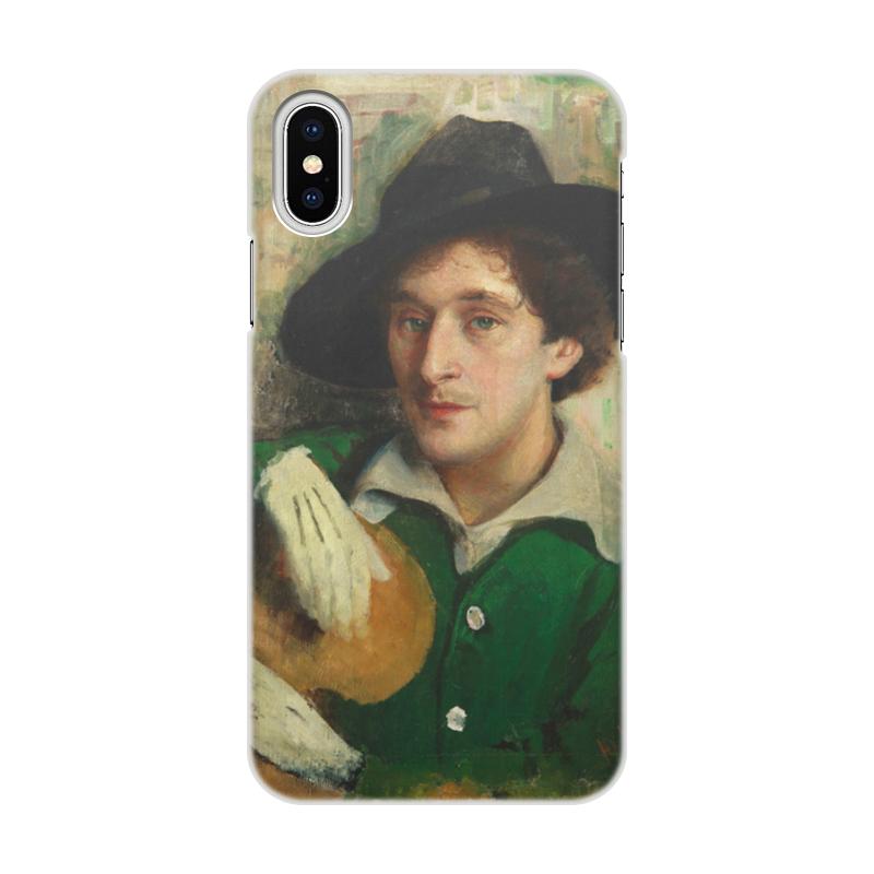 Чехол для iPhone X/XS, объёмная печать Printio Портрет марка шагала (юдель пэн)