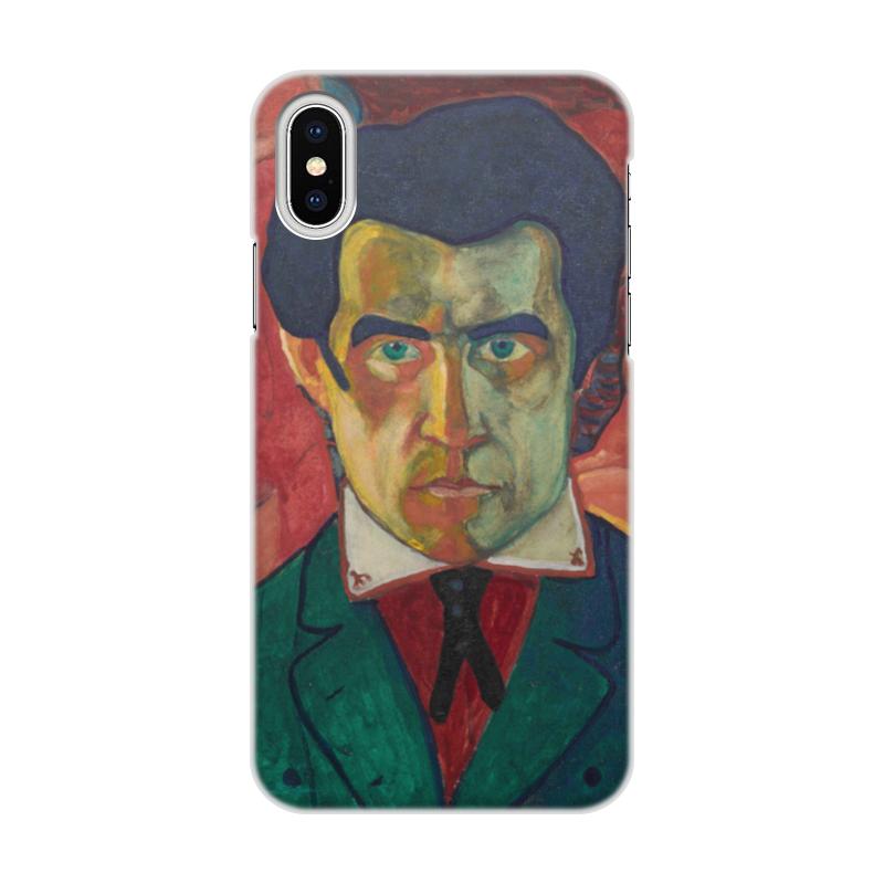 Чехол для iPhone X объёмная печать Printio Казимир малевич автопортрет