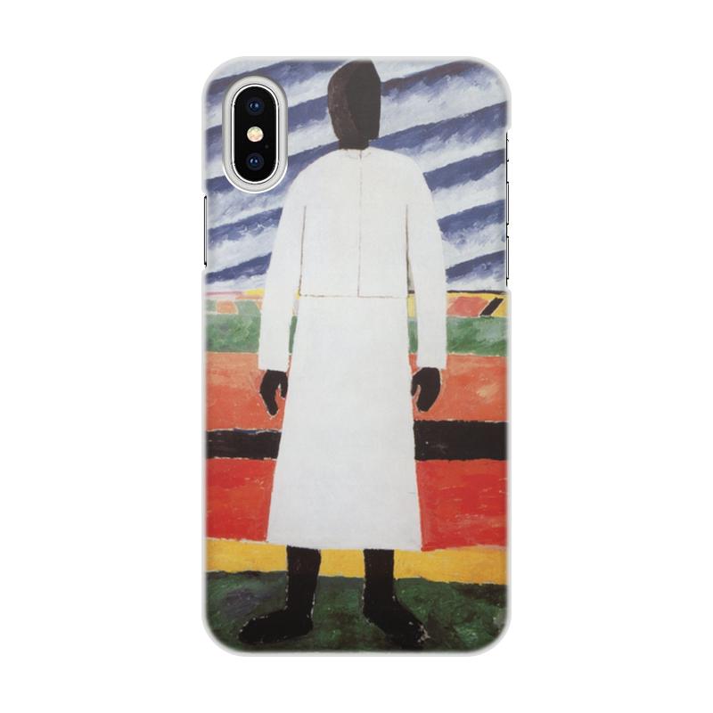 Чехол для iPhone X/XS, объёмная печать Printio Крестьянка (казимир малевич) казимир валишевский царство женщин