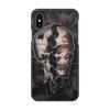 """Чехол для iPhone X/XS, объёмная печать """"Skull"""" - череп, ужас, тьма"""