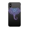 """Чехол для iPhone X, объёмная печать """"Слоник"""" - слон, слоник"""
