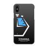 """Чехол для iPhone X/XS, объёмная печать """"Stamina stopwatch"""" - плавание, staminaswim, школаплавания, stamina"""