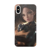 """Чехол для iPhone X/XS, объёмная печать """"Alita: Battle Angel"""" - девушка, кино, фильм, movie, киборг"""