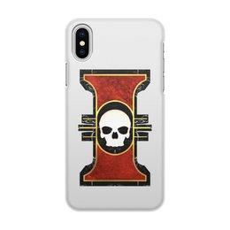 """Чехол для iPhone X/XS, объёмная печать """"Инсигния"""" - warhammer 40k, инсигния, инквизиция, ордо экзориум, экстерминатус"""