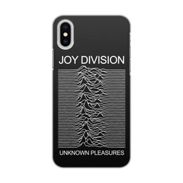 "Чехол для iPhone X/XS, объёмная печать ""Joy division"" - музыка, joy division, пост-панк, new order, готик-рок"