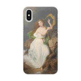 """Чехол для iPhone X/XS, объёмная печать """"Арфа Эрин (картина Томаса Бьюкенена Рида)"""" - рид"""