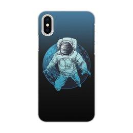 """Чехол для iPhone X/XS, объёмная печать """"Покоряя мир"""" - звезды, космос, наука, астрономия, the spaceway"""