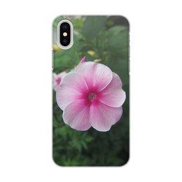 """Чехол для iPhone X/XS, объёмная печать """"Цветущая долина"""" - лето, алтай, горный алтай, цветущая долина, долина цветов"""