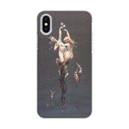 """Чехол для iPhone X/XS, объёмная печать """"Близнецы (Луис Фалеро)"""" - картина, живопись, знак зодиака, фалеро"""