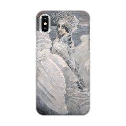 "Чехол для iPhone X/XS, объёмная печать ""Царевна-Лебедь (картина Врубеля)"" - картина, сказка, пушкин, живопись, врубель"