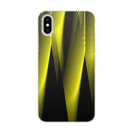 """Чехол для iPhone X/XS, объёмная печать """"Абстракция"""" - узор, графика, абстракция, геометрия, линии"""