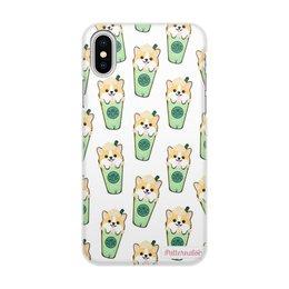 """Чехол для iPhone X/XS, объёмная печать """"Порода Корги"""" - арт, животные, собака, фотография, корги"""
