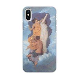 """Чехол для iPhone X/XS, объёмная печать """"Танец (Вильям Бугро)"""" - картина, живопись, бугро"""