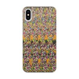 """Чехол для iPhone X/XS, объёмная печать """"Стерео"""" - стерео"""