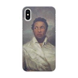 """Чехол для iPhone X/XS, объёмная печать """"Айра Олдридж в образе Отелло"""" - картина, живопись, шекспир, театр, норткот"""