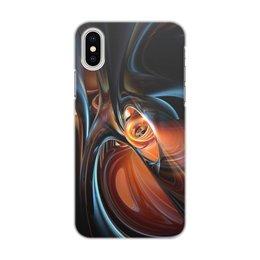 "Чехол для iPhone X/XS, объёмная печать ""Art Volume three"" - цвета, краски, искусство, тренд"