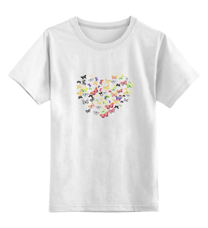 Детская футболка классическая унисекс Printio Бабочки 2 детская футболка классическая унисекс printio dota 2 pudge
