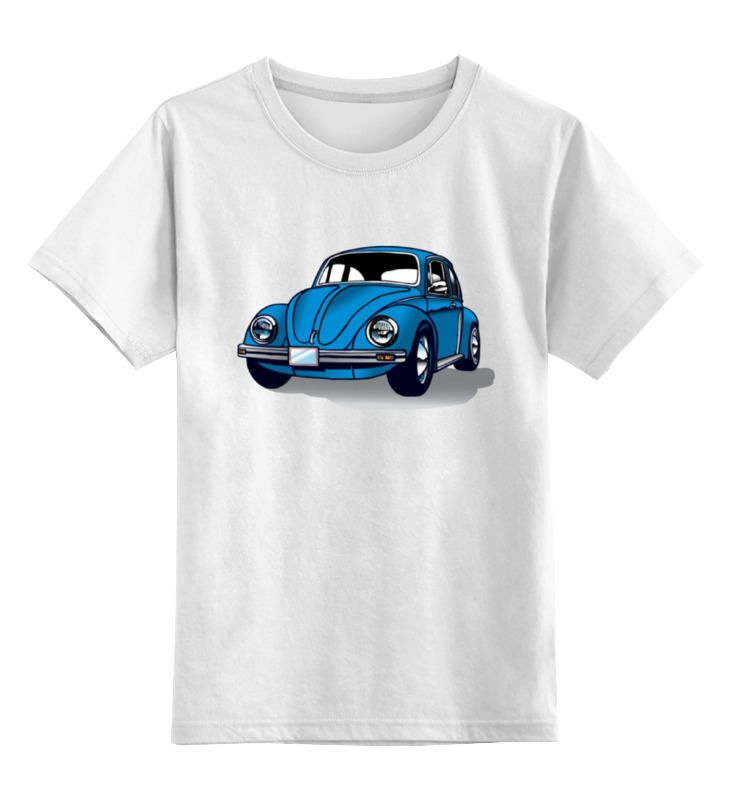Детская футболка классическая унисекс Printio Жучок