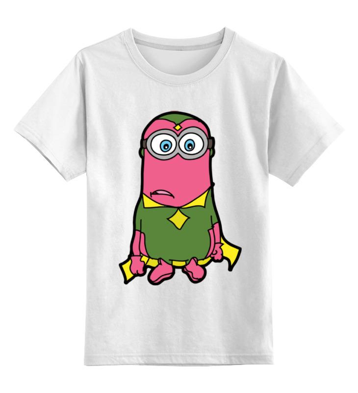 Детская футболка классическая унисекс Printio Миньон