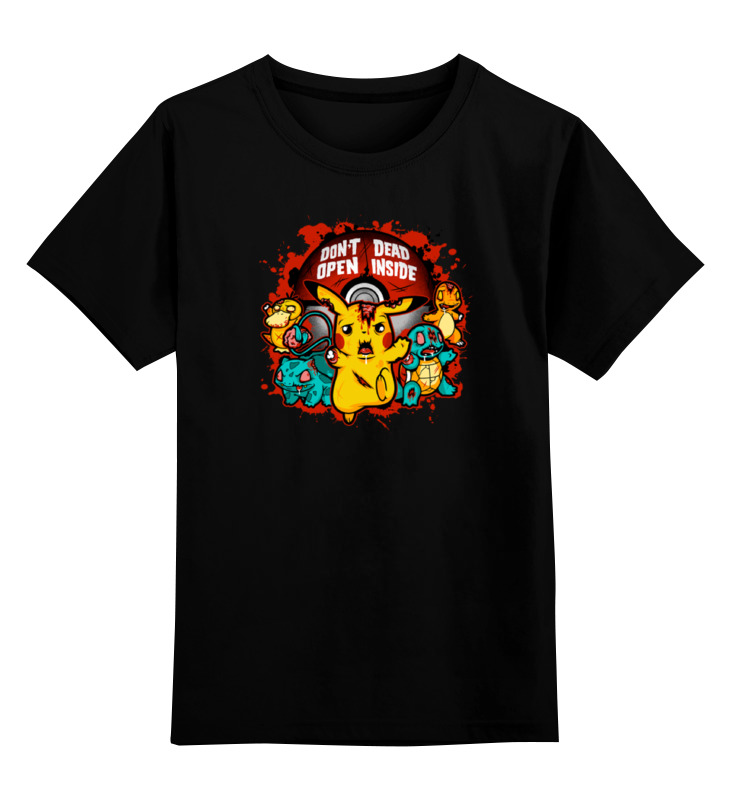Детская футболка классическая унисекс Printio Зомби покемоны детская футболка классическая унисекс printio зомби