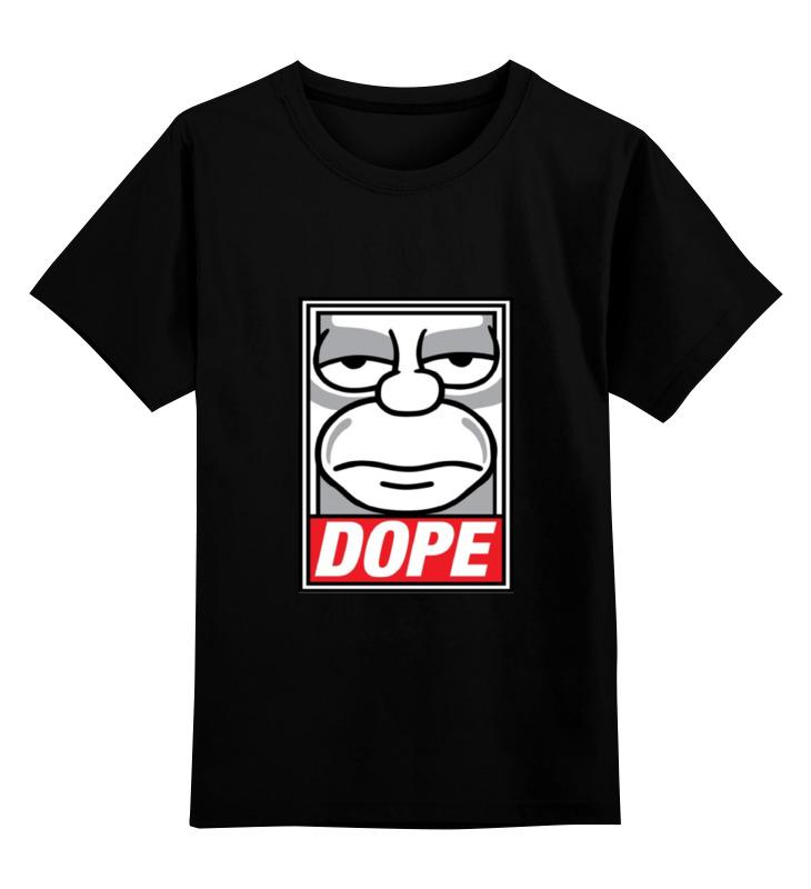 Детская футболка классическая унисекс Printio #dope футболка классическая printio dope d o d