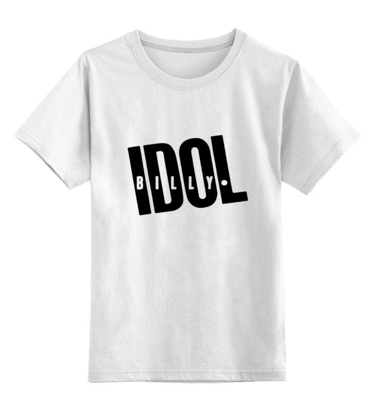 Детская футболка классическая унисекс Printio Billy idol сумка printio billy idol