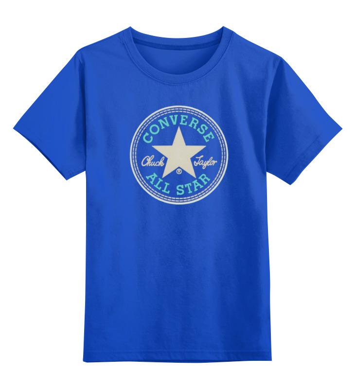 Детская футболка классическая унисекс Printio Converse all star футболка мужская cms 110000 all star logo