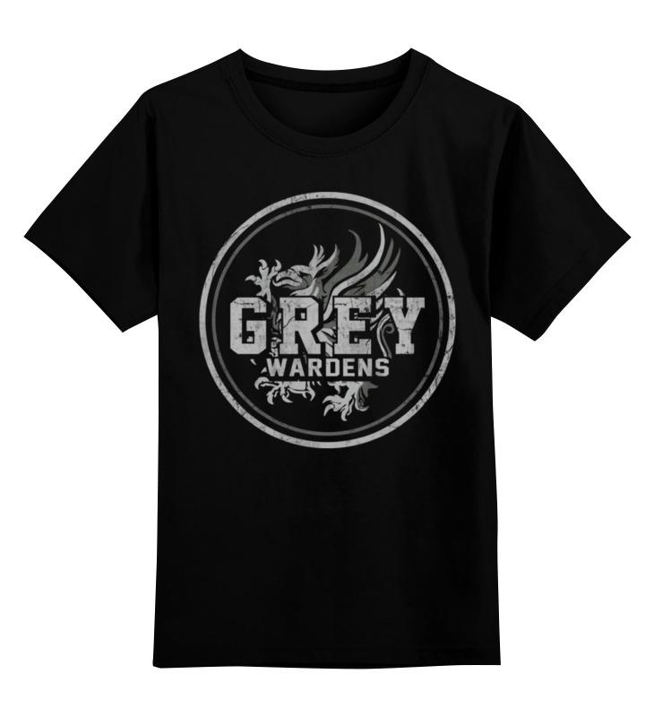 Детская футболка классическая унисекс Printio Dragon age. серые стражи чайник vitek vt 7021 sr 2200 вт 1 7 л нержавеющая сталь серебристый