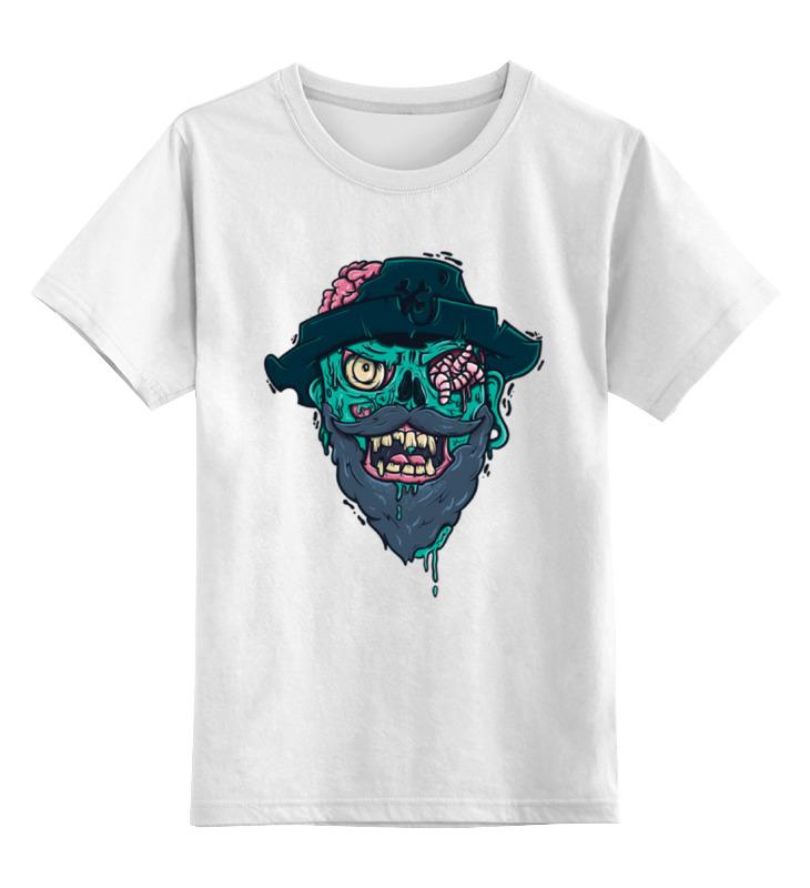 Детская футболка классическая унисекс Printio Пират детская футболка классическая унисекс printio панда пират