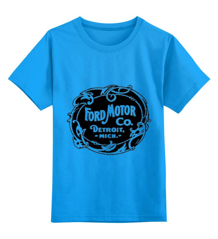 все цены на Детская футболка классическая унисекс Printio Ford motor co.