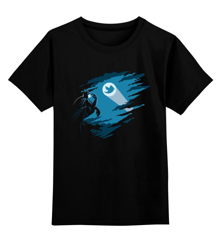 Детская футболка классическая унисекс Printio Batman x twitter лонгслив printio batman x twitter