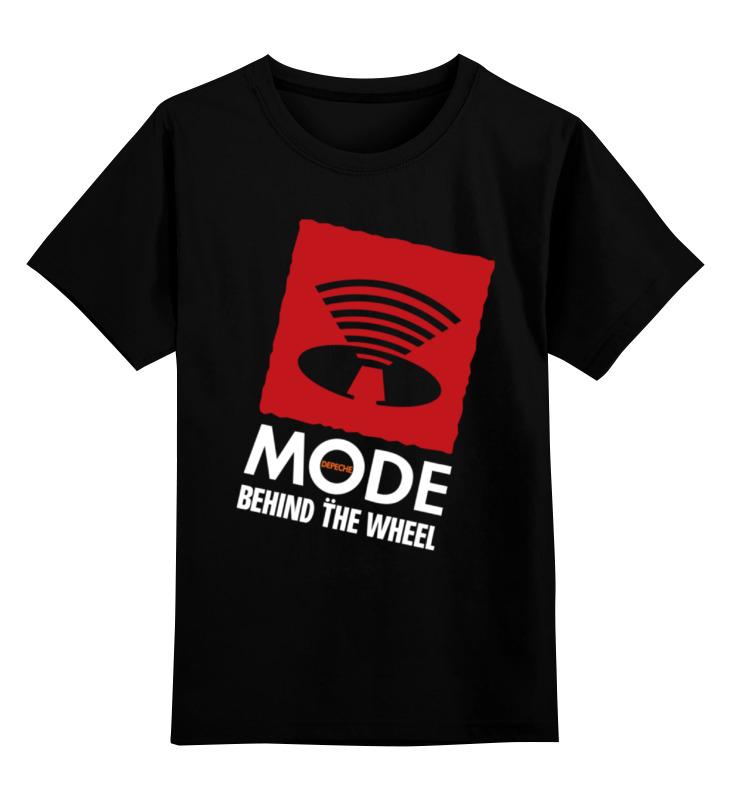 Детская футболка классическая унисекс Printio Depeche mode / behind the wheel