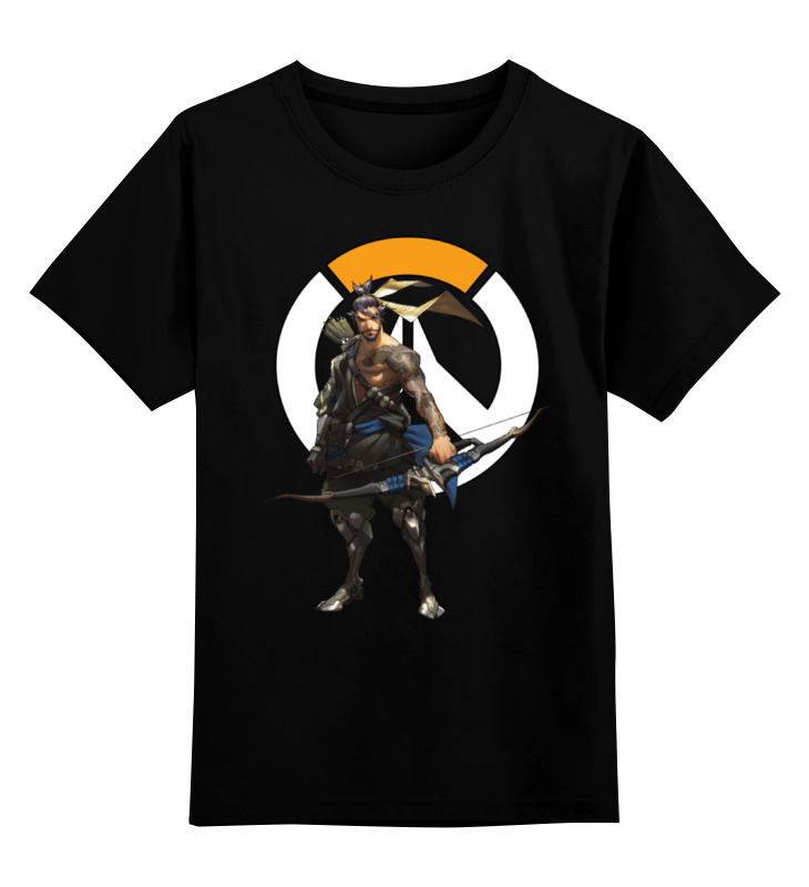Детская футболка классическая унисекс Printio Overwatch hanzo / овервотч хандзо футболка классическая printio overwatch хандзо
