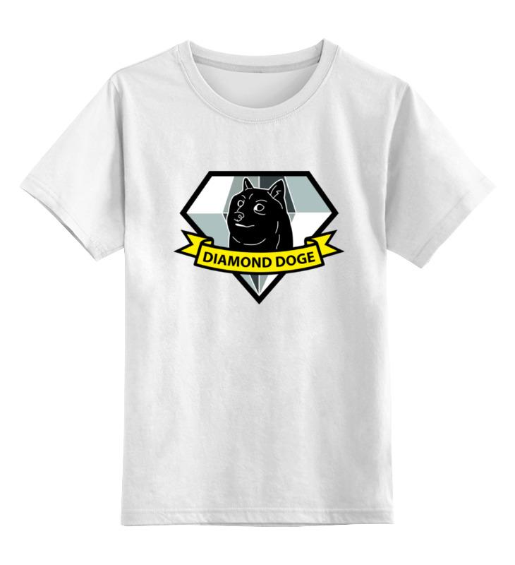 Детская футболка классическая унисекс Printio Diamond doge (metal gear solid)