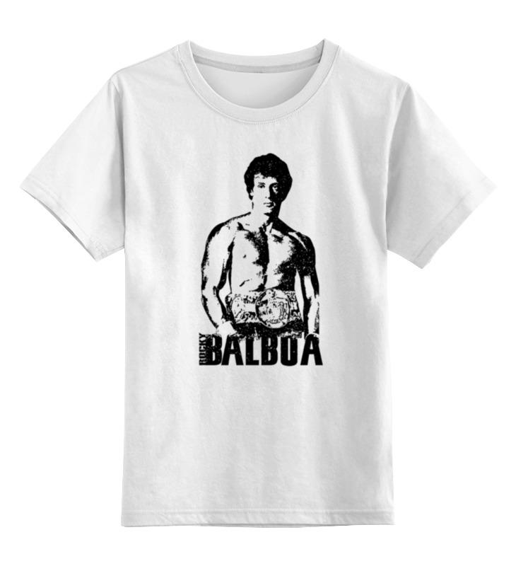 Детская футболка классическая унисекс Printio Rocky balboa светильник декоративный 3dlightfx paw patrol rocky mini 3d