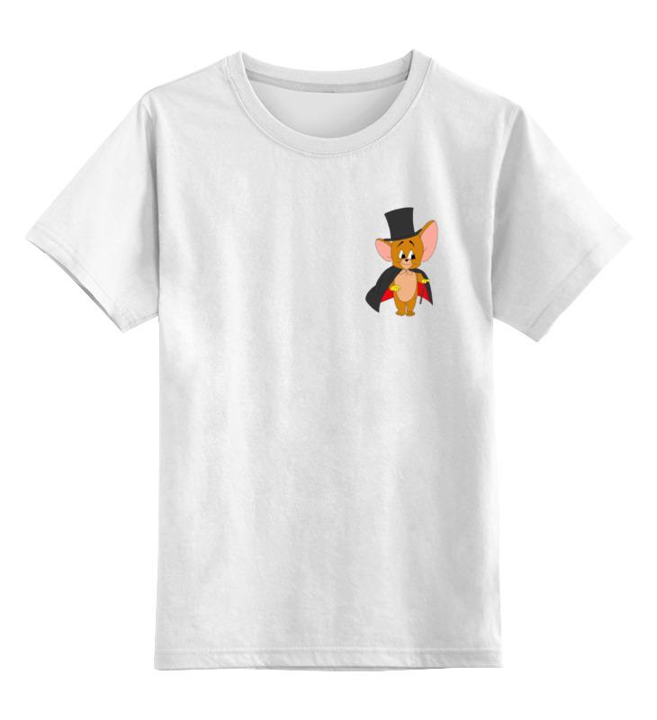 Детская футболка классическая унисекс Printio Том и джери футболка стрэйч printio том и джери