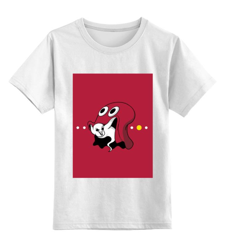 Детская футболка классическая унисекс Printio Привидение каспер сумка printio привидение каспер