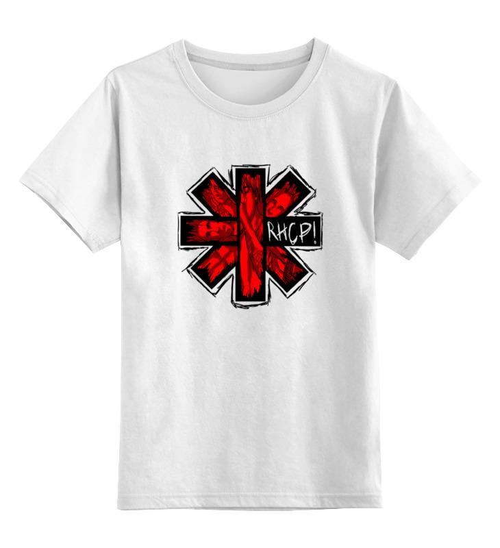 Детская футболка классическая унисекс Printio Rhcp! детская футболка классическая унисекс printio соник