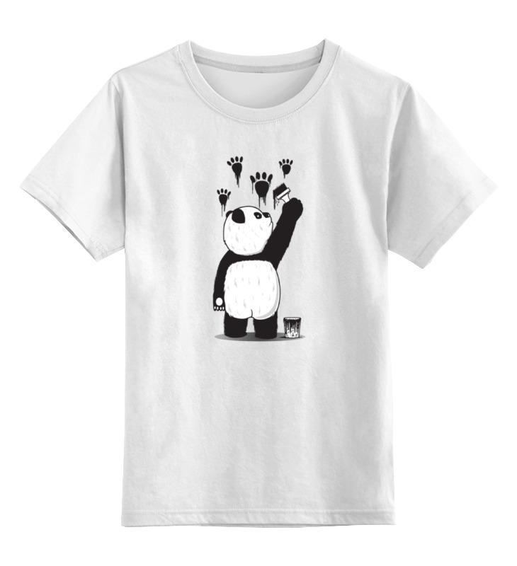 Детская футболка классическая унисекс Printio Панда вандал детская футболка классическая унисекс printio король панда