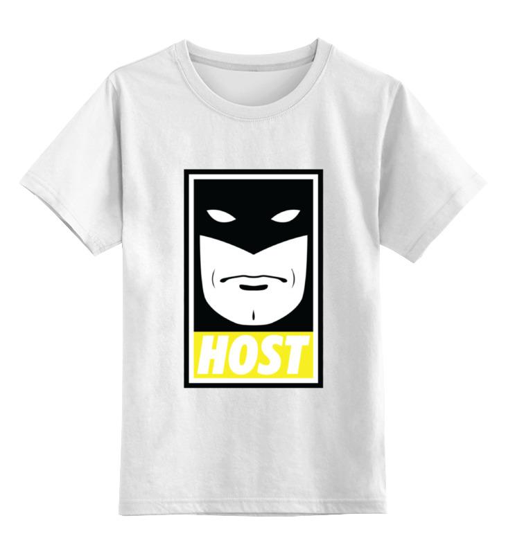 Детская футболка классическая унисекс Printio Космический призрак (space ghost)