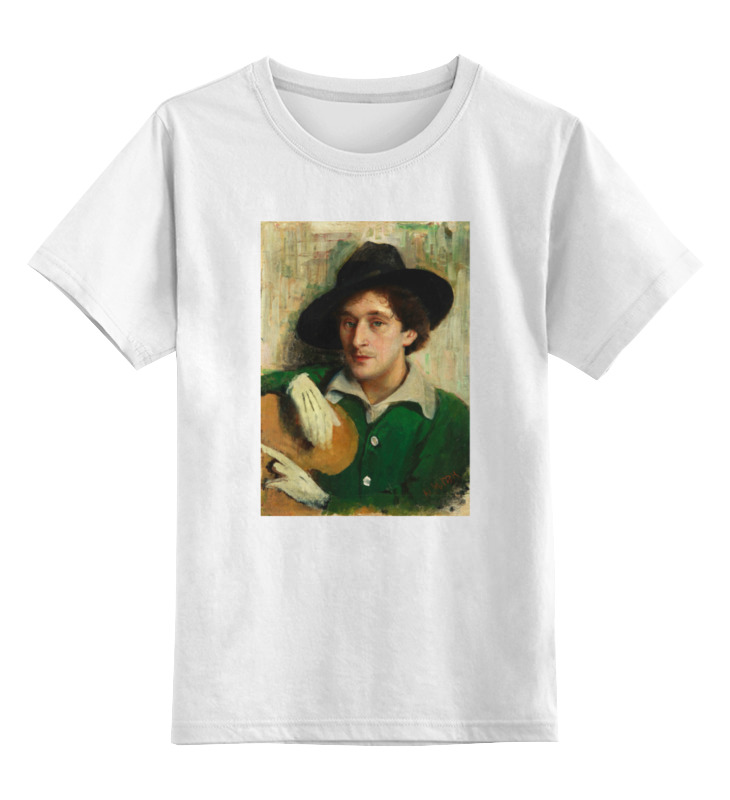 Детская футболка классическая унисекс Printio Портрет марка шагала (юдель пэн) сумка printio портрет марка шагала юдель пэн