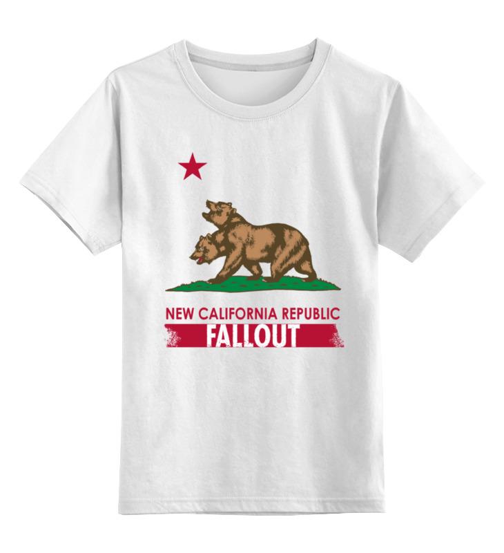 Детская футболка классическая унисекс Printio Fallout футболка классическая printio fallout фэллаут