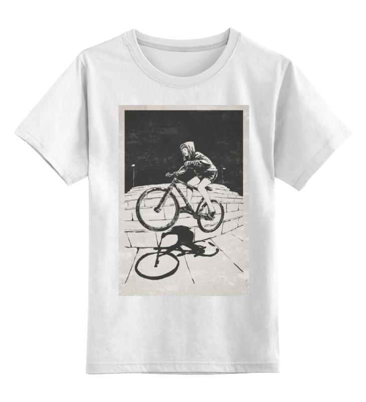 Детская футболка классическая унисекс Printio Девушка на велосипеде детская футболка классическая унисекс printio девушка