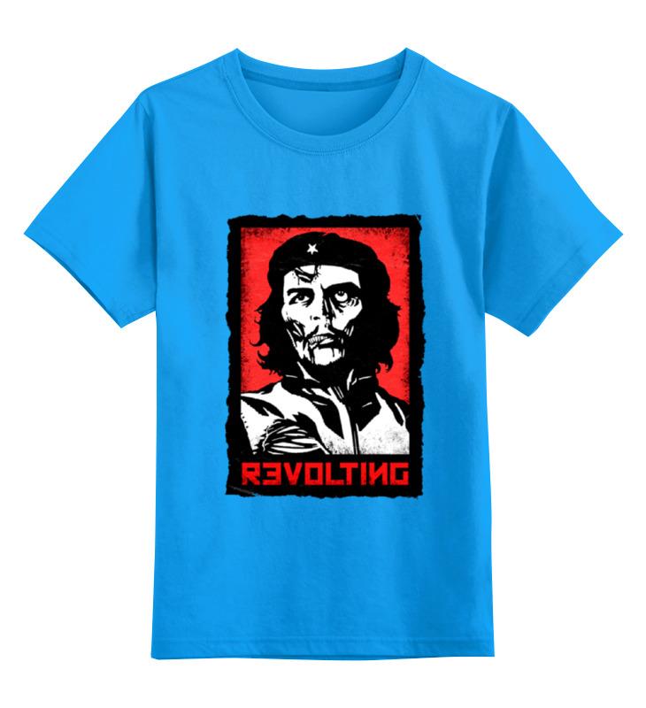 Детская футболка классическая унисекс Printio Chegevara zombie